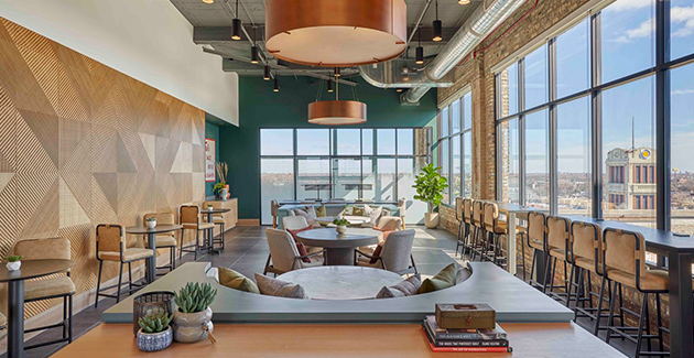 coworking space in Fields Lofts at Logan Square