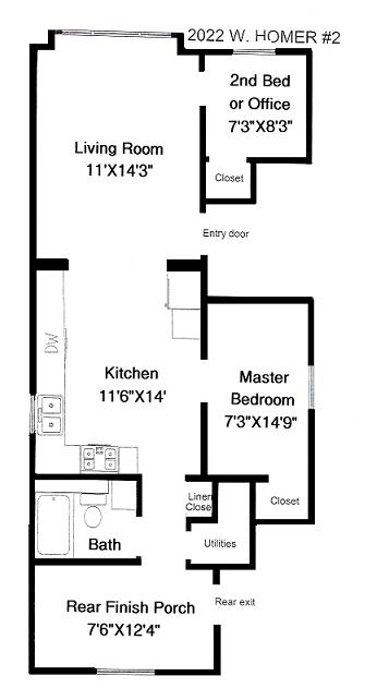 Bucktown apartments for rent 1 bedroom 1 bathroom at - 2 bedroom apartments in bucktown ...