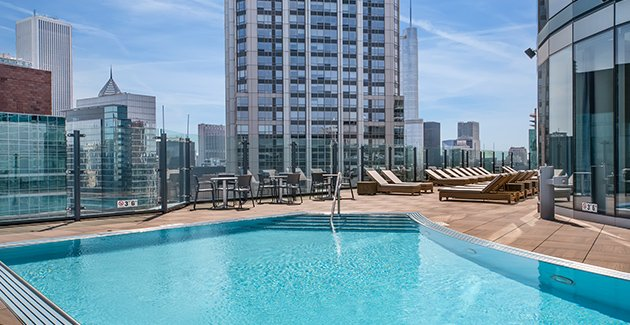 the best apartment rooftops in Chicago