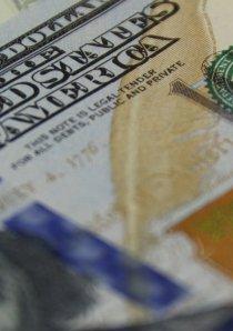 close up of US hundred dollar bills