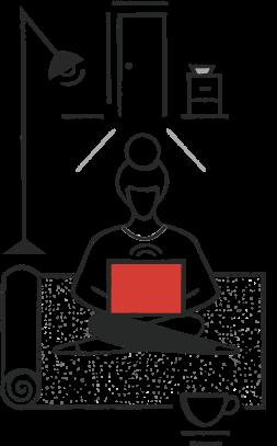 Renters illustration
